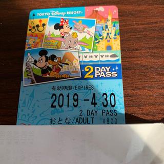 ディズニー(Disney)のディズニー リゾート ライン  大人1枚(鉄道乗車券)