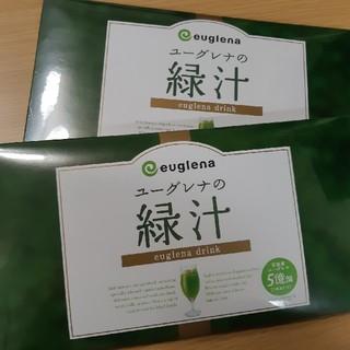 【新品未開封】ユーグレナの緑汁 31本入り 2箱(青汁/ケール加工食品 )