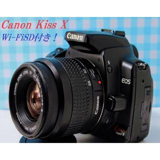 キヤノン(Canon)の♦️ Kissシリーズのプリンセス❤️   Canon EOS KissX ♦️(デジタル一眼)