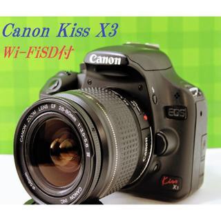 キヤノン(Canon)の♦️初心者にお勧め!スマホ転送OK!Canon EOS KissX3♦️(デジタル一眼)