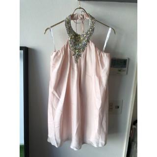 エンジェルアール(AngelR)の新品、未使用 キャバドレス、ナイトドレス、ホルターネックドレス(ミニドレス)