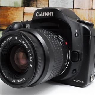 キヤノン(Canon)の★可愛いフォルム&簡単操作★Canon EOS 10D レンズセット (デジタル一眼)