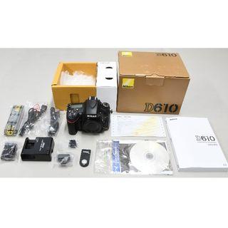 ニコン(Nikon)のNikon D610 デジタル一眼カメラ 箱/取説/保証書/付属品/リモコン付(デジタル一眼)