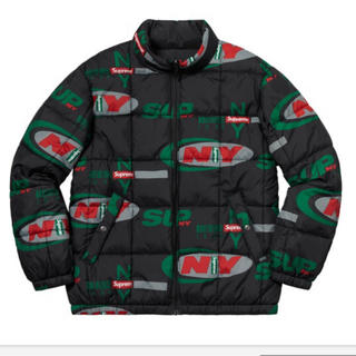 Supreme - Supreme NY Reversible Puffy Jacket