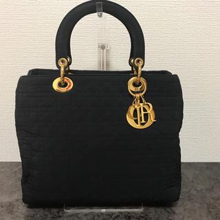 [ベタつきなし]Dior レディディオール ハンドバッグ