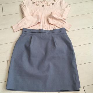 リランドチュール(Rirandture)のリランドチュール♡バックリボン スカート(ひざ丈スカート)