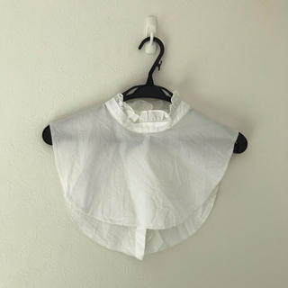 つけ襟 白 ホワイト フリル(つけ襟)