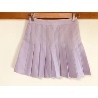 WEGO - ウィゴー 薄紫のプリーツミニスカート