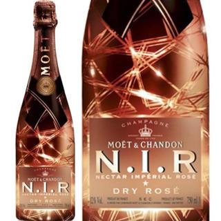 モエエシャンドン(MOËT & CHANDON)のMOËT N.I.R ネクター インペリアルロゼ ドライ(シャンパン/スパークリングワイン)