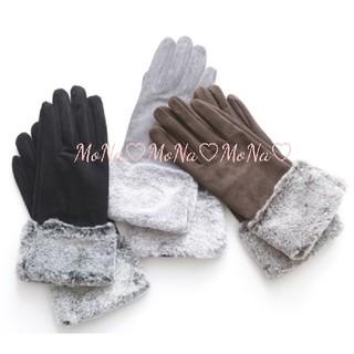 ジャスグリッティー(JUSGLITTY)の新品♡グローブ グレー(手袋)