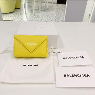 バレンシアガ(Balenciaga)の未使用 正規品 バレンシアガ ペーパーミニウォレット(折り財布)