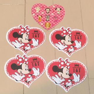 ディズニー(Disney)の期間限定★ミニーちゃんのメモとディズニーシール(ノート/メモ帳/ふせん)