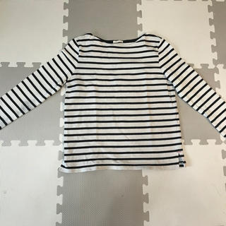 ジーユー(GU)のGU ボーダーシャツ(Tシャツ(長袖/七分))
