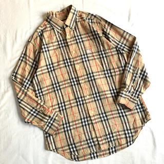 BURBERRY - Burberry's ノバチェック 総柄 BDシャツ バーバリーズ 柄シャツ