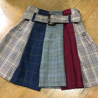 REDYAZEL - REDYAZEL チェック配色ミニスカート