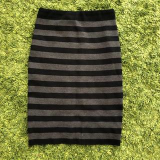 ドゥドゥ(DouDou)のDOU DOU  ニットスカート(ひざ丈スカート)