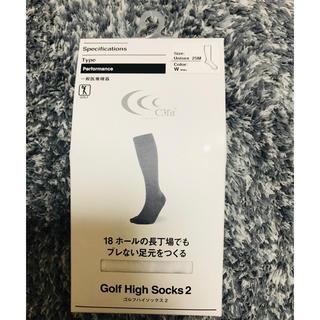 シースリーフィット(C3fit)のC3fit スポーツ ゴルフ 未使用ソックス(ソックス)