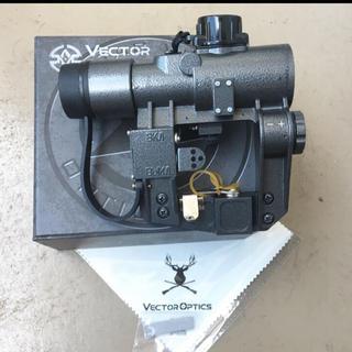 実銃 最新 TAC VECTOR OPTICS SVD ドラグノフ 1×28 A(電動ガン)