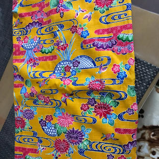 沖縄柄の布