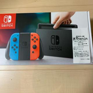 ニンテンドースイッチ(Nintendo Switch)のスイッチ 本体(家庭用ゲーム本体)