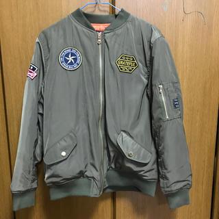 シマムラ(しまむら)のMA1ジャケット(ブルゾン)