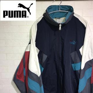 PUMA - プーマ PUMA ナイロンジャケット グローバルスポーツ 90s XL