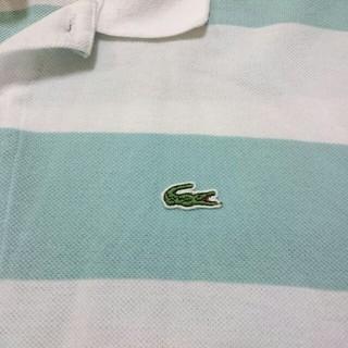 ラコステ(LACOSTE)のLACOSTEのボーダーポロシャツ(ポロシャツ)