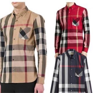 BURBERRY - Burberry チェックシャツ 定価44000円