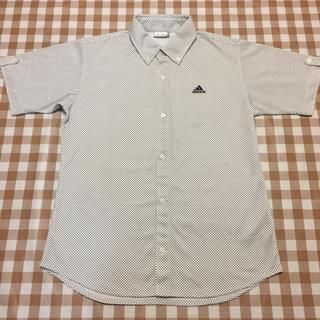 アディダス(adidas)のadidas アディダス  ポロシャツ シャツ ドット ホワイト O 未使用(ポロシャツ)