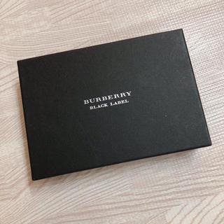 バーバリー(BURBERRY)の美品♡バーバリー 名刺入れ 空箱(名刺入れ/定期入れ)
