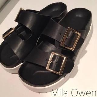 ミラオーウェン(Mila Owen)のMila Owen コンフォートサンダル(サンダル)