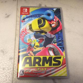 ニンテンドースイッチ(Nintendo Switch)の美品✨ ARMS ニンテンドー ソフト スイッチ アームズ (家庭用ゲームソフト)