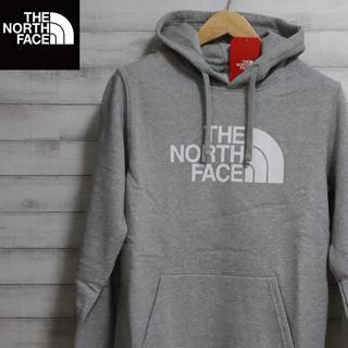 THE NORTH FACE - 値下げok☆大人気☆ノースフェイス ハーフドームロゴ グレーパーカー