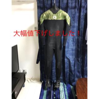 クイックシルバー(QUIKSILVER)のBe wetsuit spider ジャージ ライトドライ ブーツ付き ML(サーフィン)