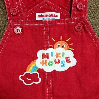 mikihouse - MIKI HOUSE  90㎝  ロンパース  オーバーオール
