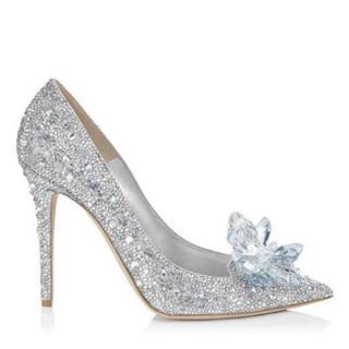 ヴェラウォン(Vera Wang)のシンデレラ♡ガラスの靴♡ブライダル(ハイヒール/パンプス)