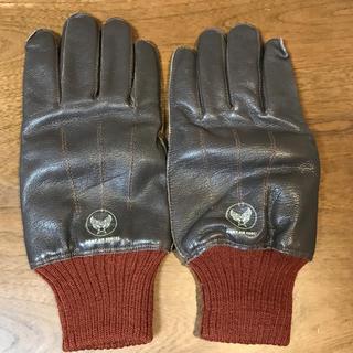 バズリクソンズ(Buzz Rickson's)のバズリクソンズ A-10 レザーグローブ 手袋(手袋)