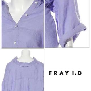 FRAY I.D - ☆ FRAYI.D カメリアリネンシャツ ☆