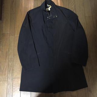 アルマーニ コレツィオーニ(ARMANI COLLEZIONI)のARMANI ステンカラーコート 黒(ステンカラーコート)