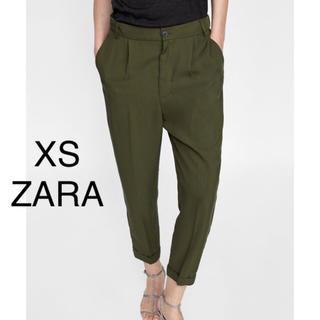 ZARA - ZARA パンツ テーパードパンツ