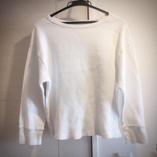 ジーユー(GU)のワッフルロンT GU(Tシャツ(長袖/七分))
