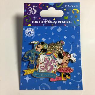 ディズニー(Disney)のディズニー 35周年 ピンバッジ(バッジ/ピンバッジ)