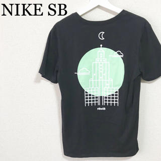 NIKE - ★未使用★NIKE SB Tシャツ 黒 メンズM バックプリント ドライフィット
