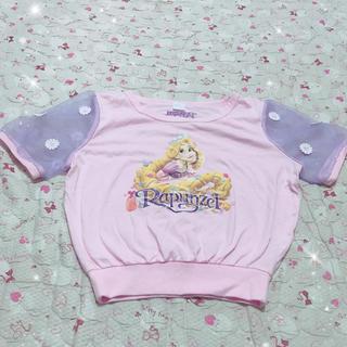 ディズニー(Disney)のラプンツェルTシャツ(Tシャツ(半袖/袖なし))