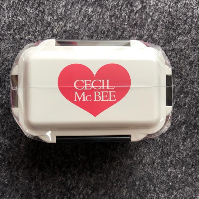 CECIL McBEE(セシルマクビー)のCECIL Mc BEE お弁当箱 インテリア/住まい/日用品のキッチン/食器(弁当用品)の商品写真