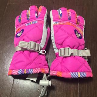ディズニー(Disney)のスキー スノーボード 手袋 キッズ 子供 雪遊び ミッキー 130(手袋)