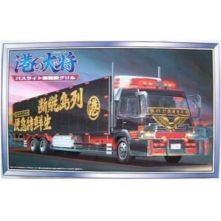 アオシマ(AOSHIMA)の【未組立】アオシマ 1/32 大型デコトラ 港の大将 バスライト初期型グリル(模型/プラモデル)