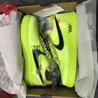NIKE - Nike off-white air force1 THE TEN オフホワイト