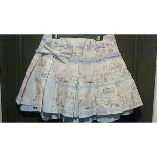 アンジェリックプリティー(Angelic Pretty)のPromenade de Paris スカート ピンク×ラベンダー(その他)