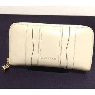 66458a6c7fce ブルガリ(BVLGARI)の【正規品】BVLGARI ブルガリ ラウンドファスナー 長財布(
